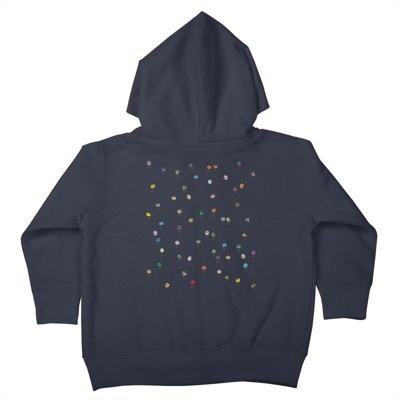 Walking Weather Pattern Kids Toddler Zip-Up Hoody by zomboy's Artist Shop