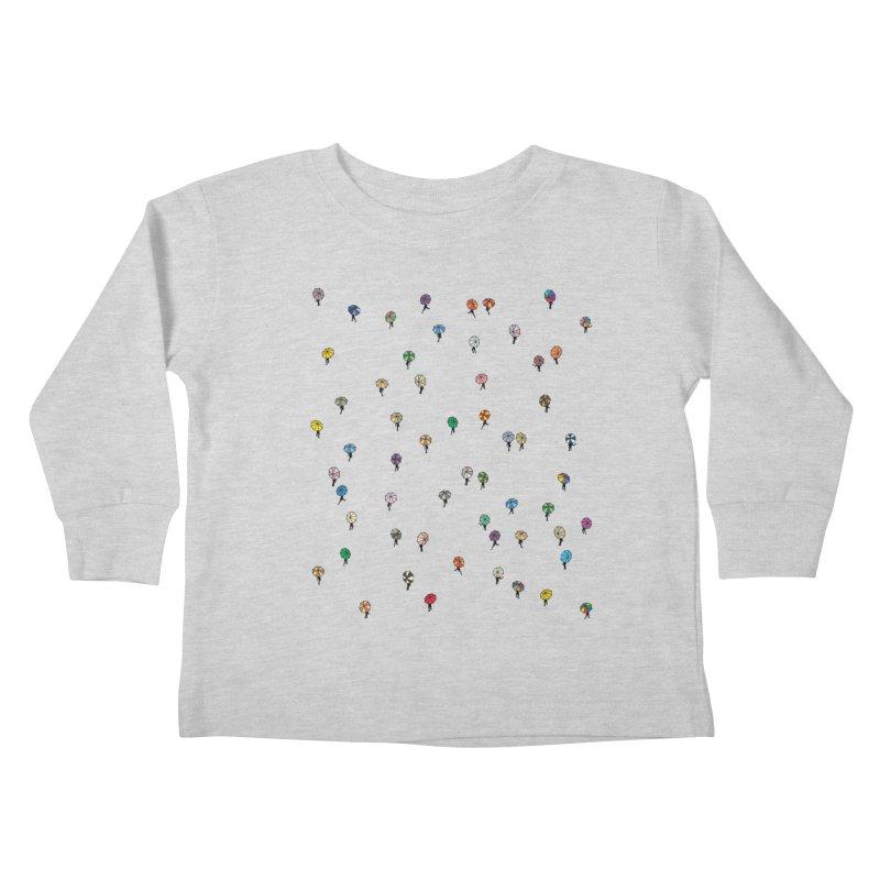 Walking Weather Pattern Kids Toddler Longsleeve T-Shirt by zomboy's Artist Shop
