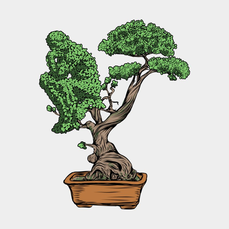 Bonsai Thinking by zomboy's Artist Shop
