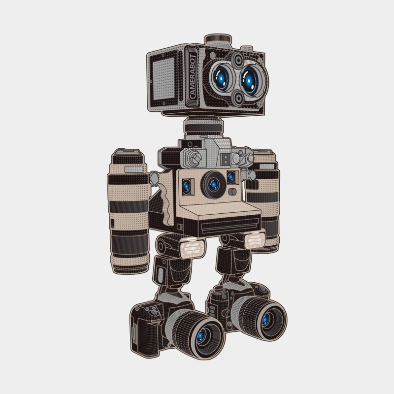 Camera Bot 6000 by zomboy's Artist Shop