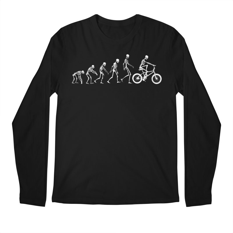Evolution BMX Men's Regular Longsleeve T-Shirt by zomboy's Artist Shop