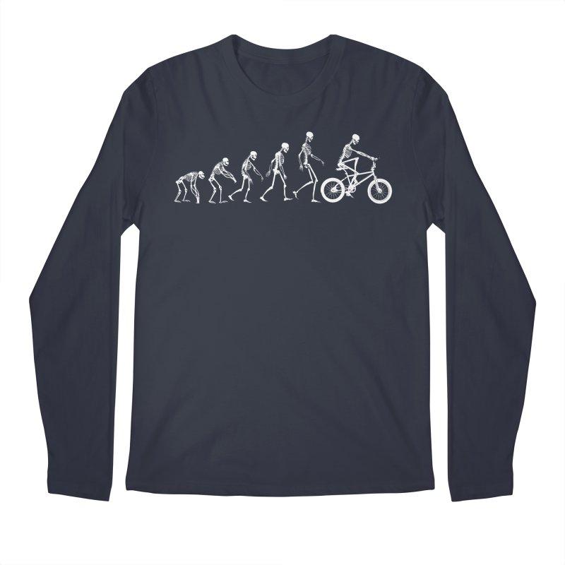 Evolution BMX Men's Longsleeve T-Shirt by zomboy's Artist Shop