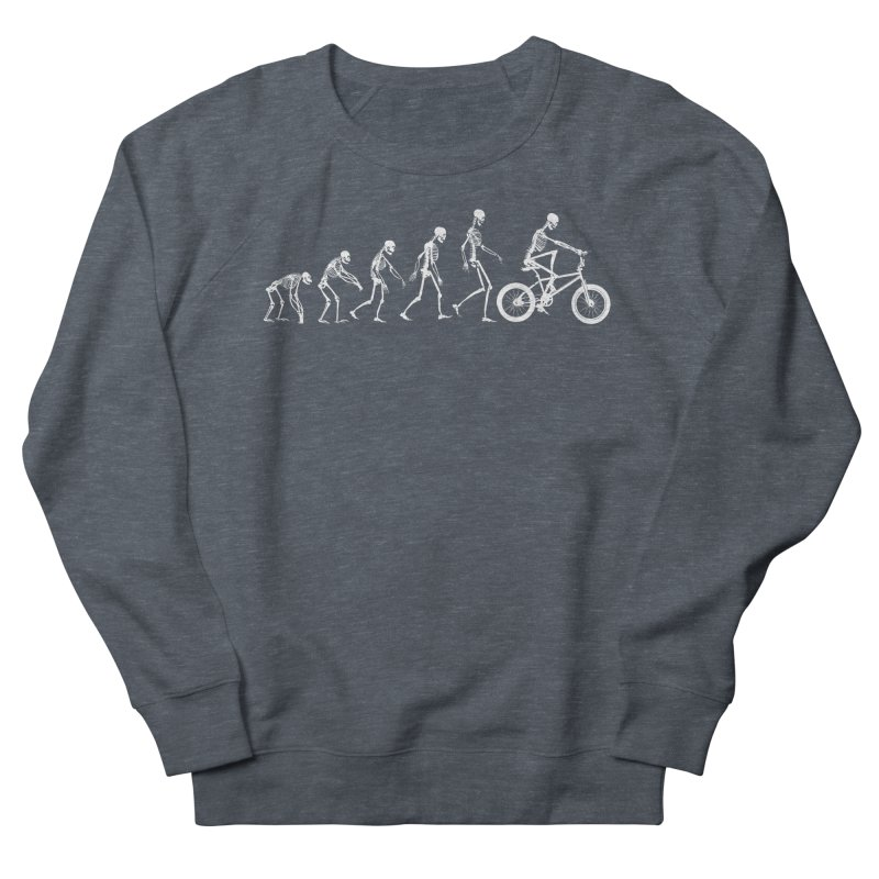 Evolution BMX Women's French Terry Sweatshirt by zomboy's Artist Shop