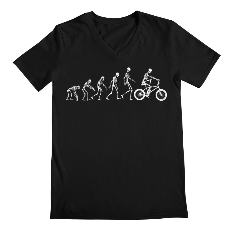 Evolution BMX Men's Regular V-Neck by zomboy's Artist Shop