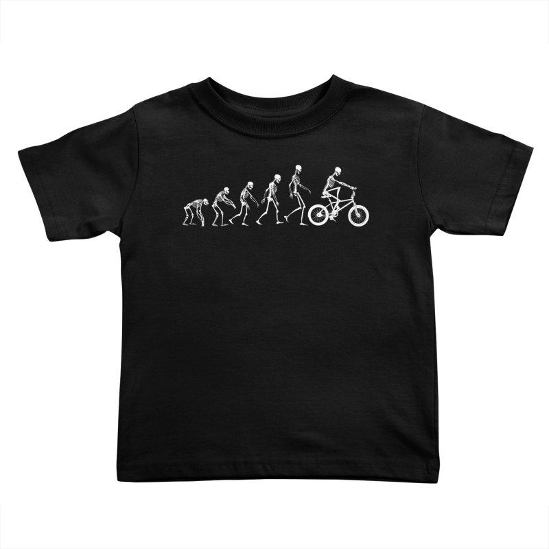 Evolution BMX Kids Toddler T-Shirt by zomboy's Artist Shop