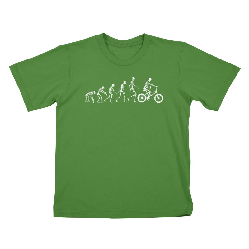 Evolution BMX Kids T-Shirt by zomboy's Artist Shop