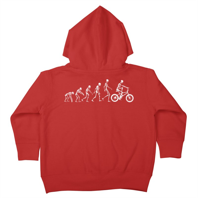 Evolution BMX Kids Toddler Zip-Up Hoody by zomboy's Artist Shop