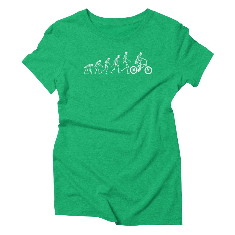 Evolution BMX Women's Triblend T-shirt by zomboy's Artist Shop