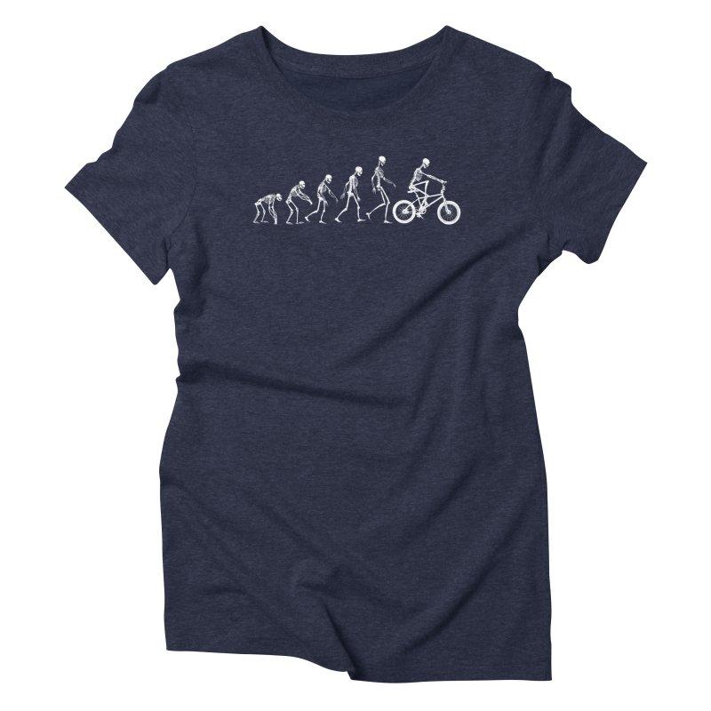 Evolution BMX Women's Triblend T-shirt by zomboy's Artist Shop