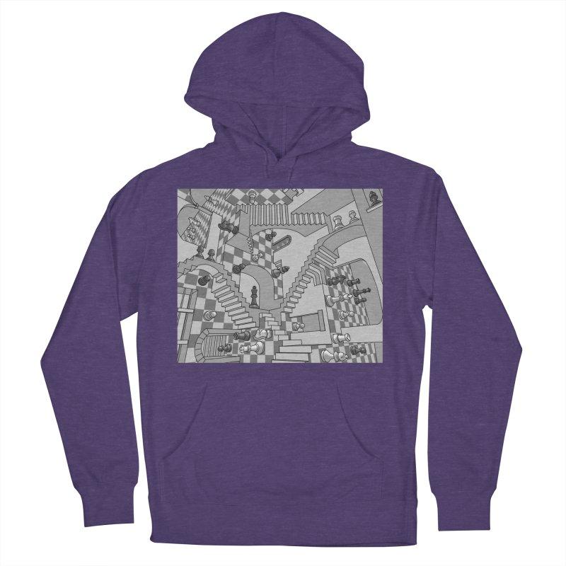 Check Women's Pullover Hoody by zomboy's Artist Shop