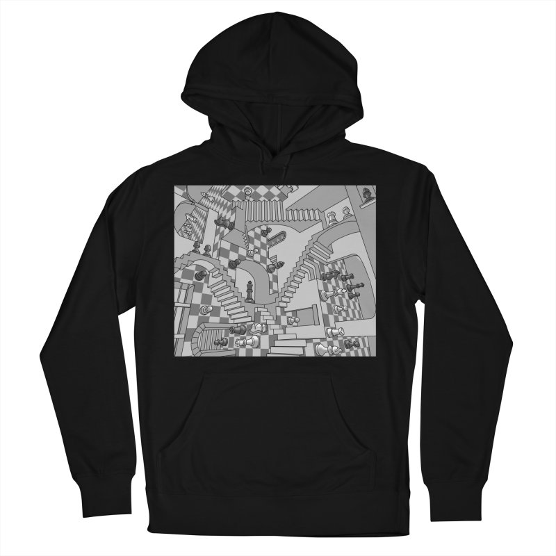 Check Women's Pullover Hoody by zomboy's Artist Shop