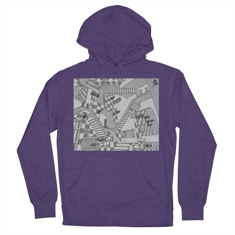 Check Men's Pullover Hoody by zomboy's Artist Shop