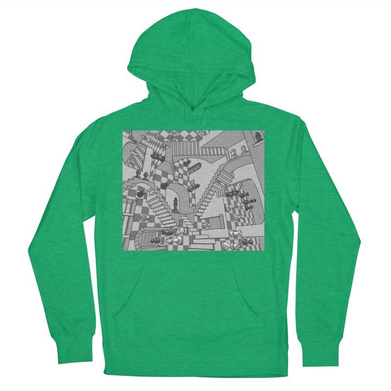 Check Men's Pullover Hoody by zomboy's Artist Shop