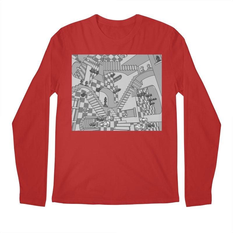 Check Men's Longsleeve T-Shirt by zomboy's Artist Shop