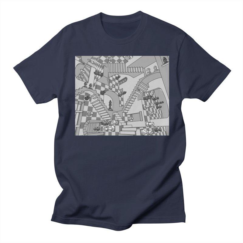 Check Men's Regular T-Shirt by zomboy's Artist Shop