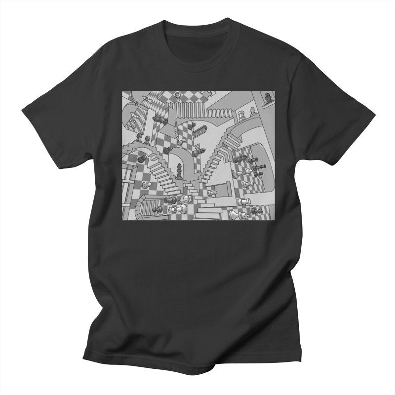 Check Men's Regular T-Shirt by zomboy's Artist Shop