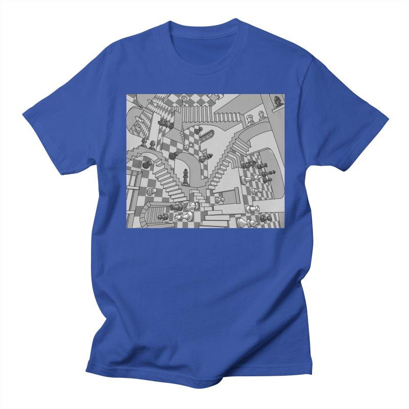 Check Men's T-Shirt by zomboy's Artist Shop