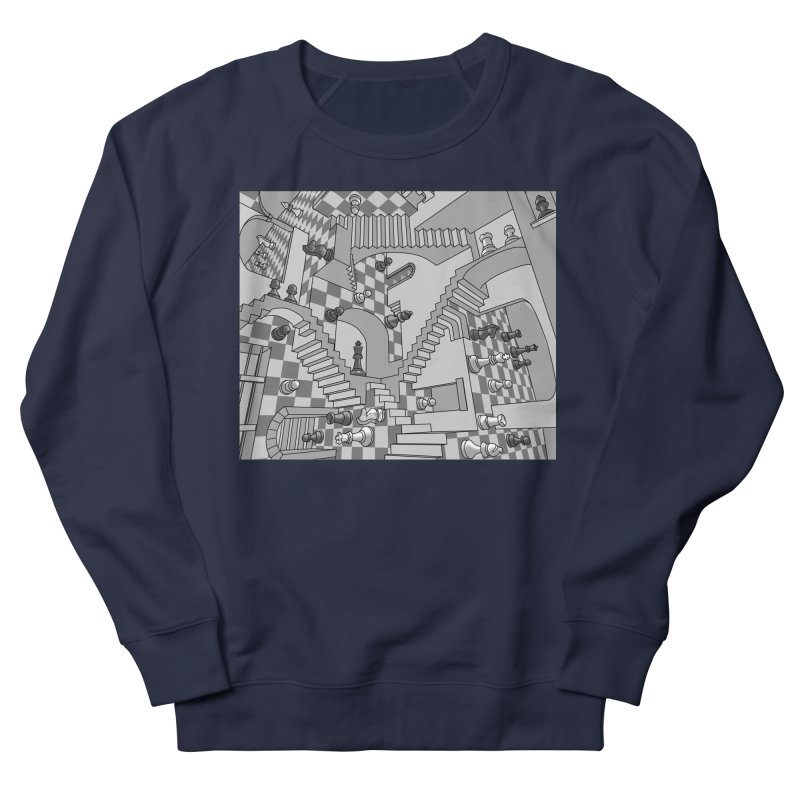 Check Men's Sweatshirt by zomboy's Artist Shop