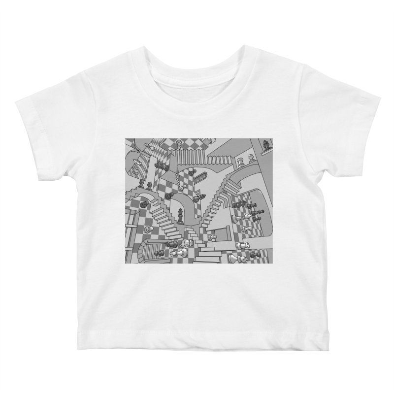 Check Kids Baby T-Shirt by zomboy's Artist Shop