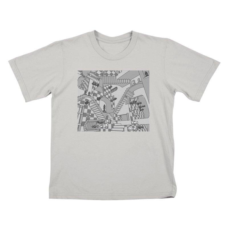 Check Kids T-shirt by zomboy's Artist Shop