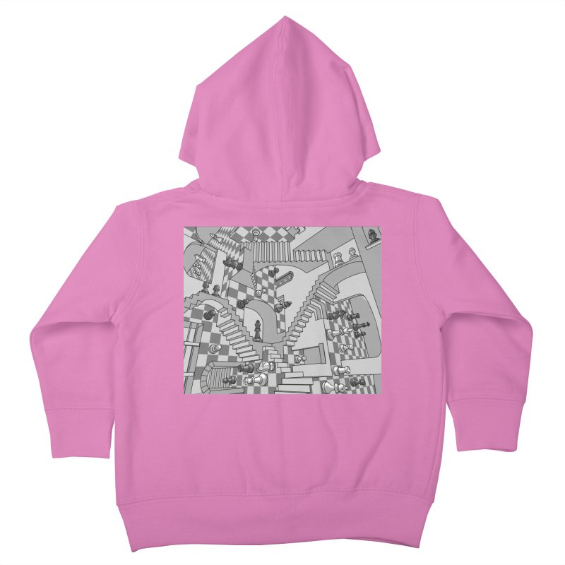 Check Kids Toddler Zip-Up Hoody by zomboy's Artist Shop