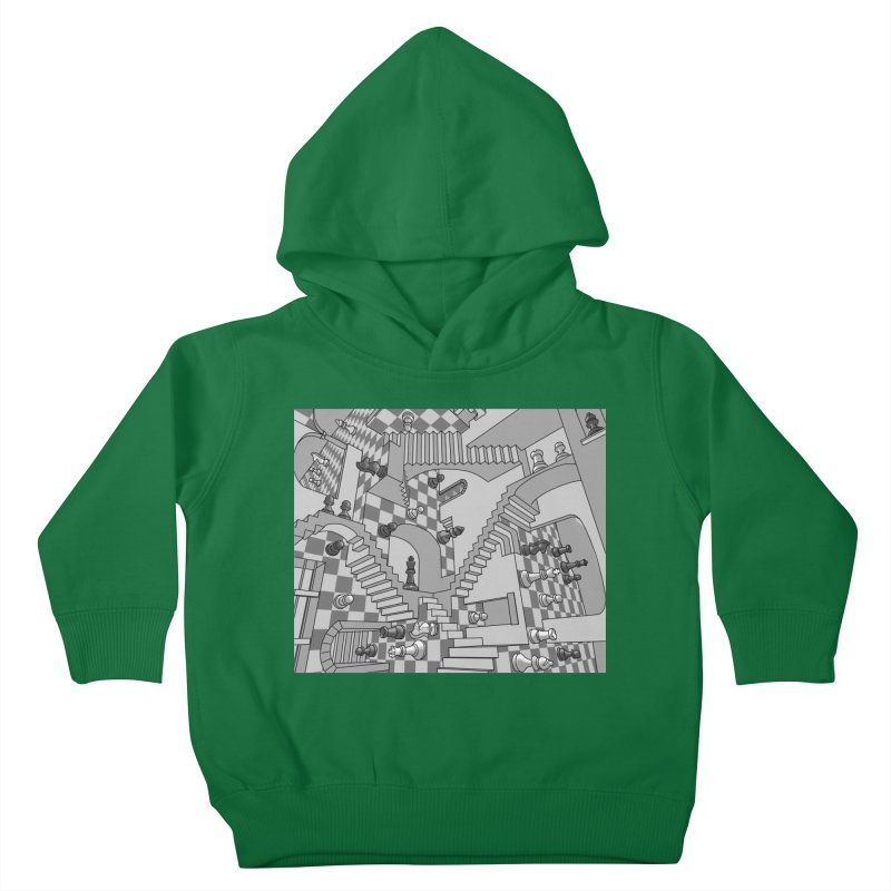 Check Kids Toddler Pullover Hoody by zomboy's Artist Shop