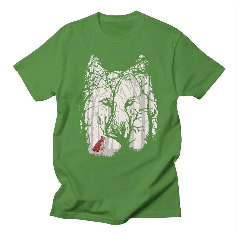 Little Red Men's T-Shirt by zomboy's Artist Shop