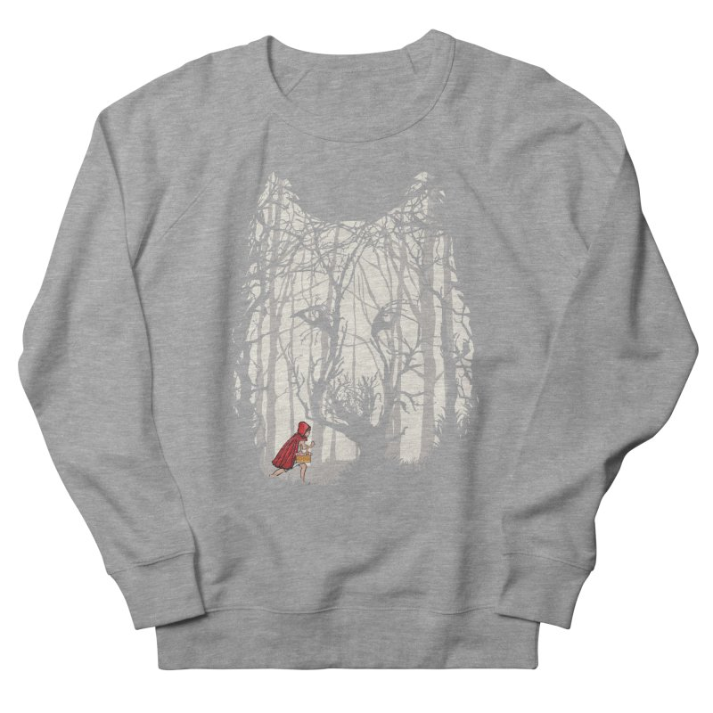 Little Red Men's French Terry Sweatshirt by zomboy's Artist Shop