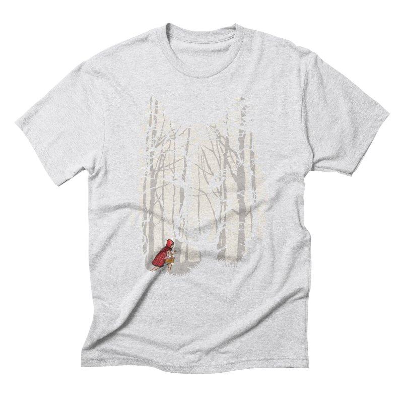 Little Red Men's Triblend T-Shirt by zomboy's Artist Shop