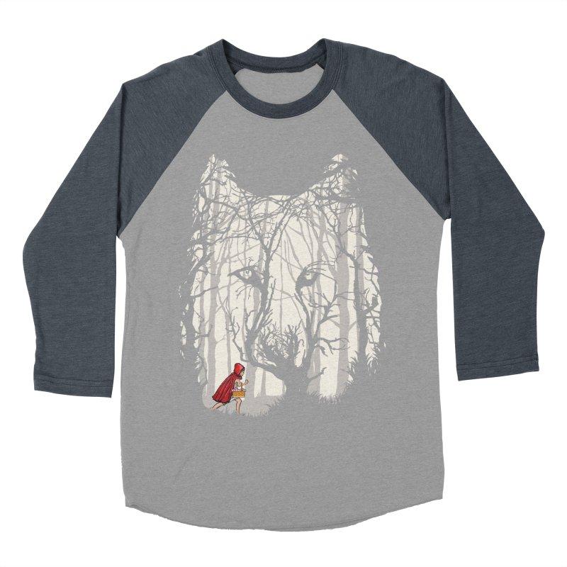 Little Red Women's Baseball Triblend Longsleeve T-Shirt by zomboy's Artist Shop