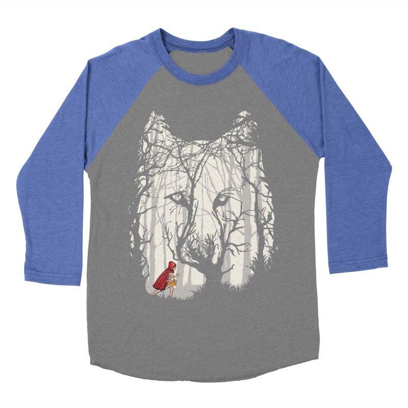 Little Red Men's Baseball Triblend Longsleeve T-Shirt by zomboy's Artist Shop