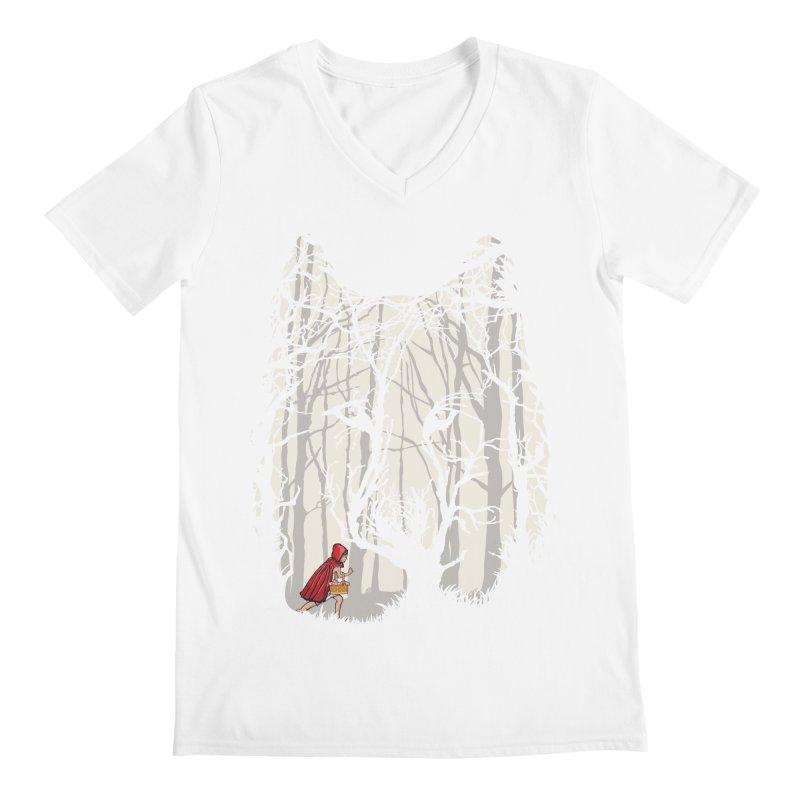 Little Red Men's Regular V-Neck by zomboy's Artist Shop
