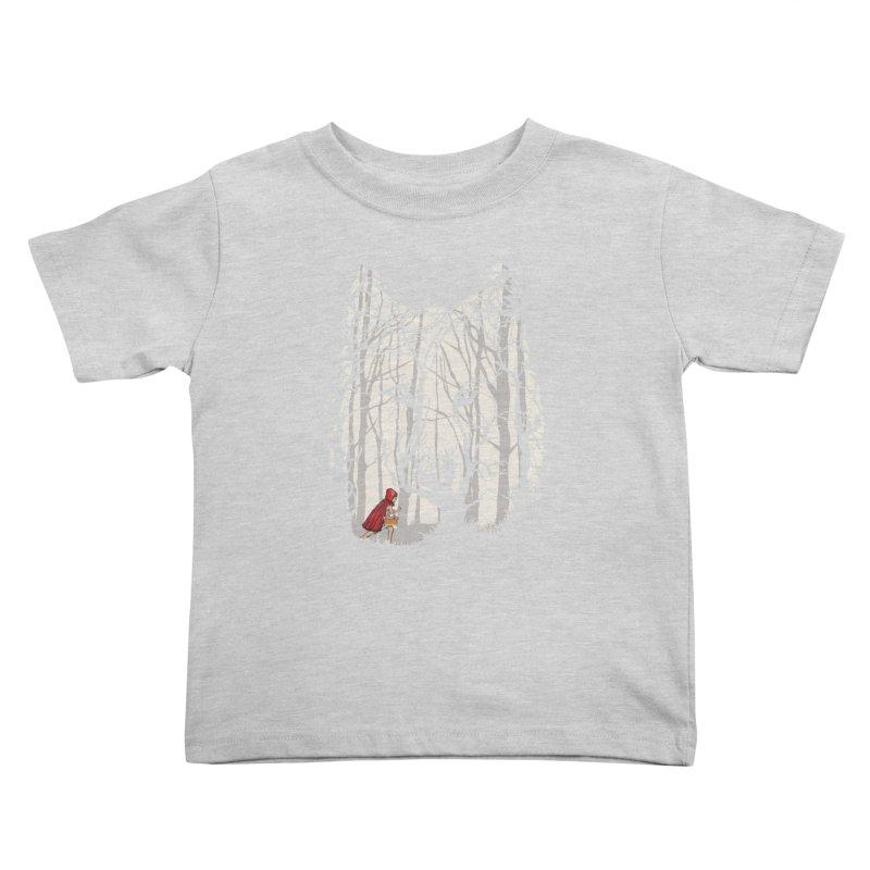 Little Red Kids Toddler T-Shirt by zomboy's Artist Shop