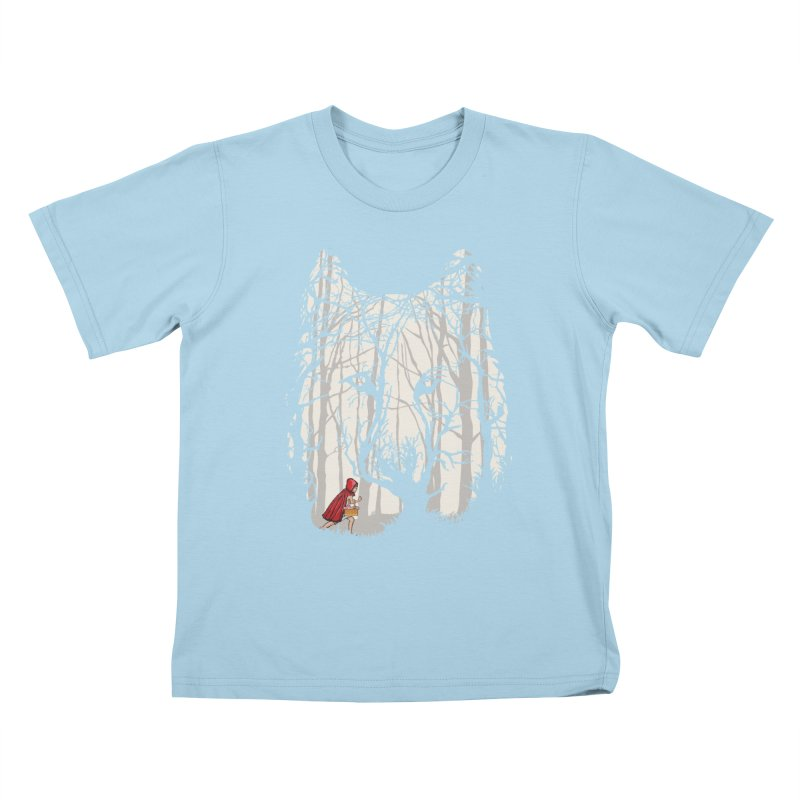 Little Red Kids T-shirt by zomboy's Artist Shop