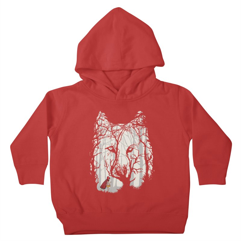 Little Red Kids Toddler Pullover Hoody by zomboy's Artist Shop