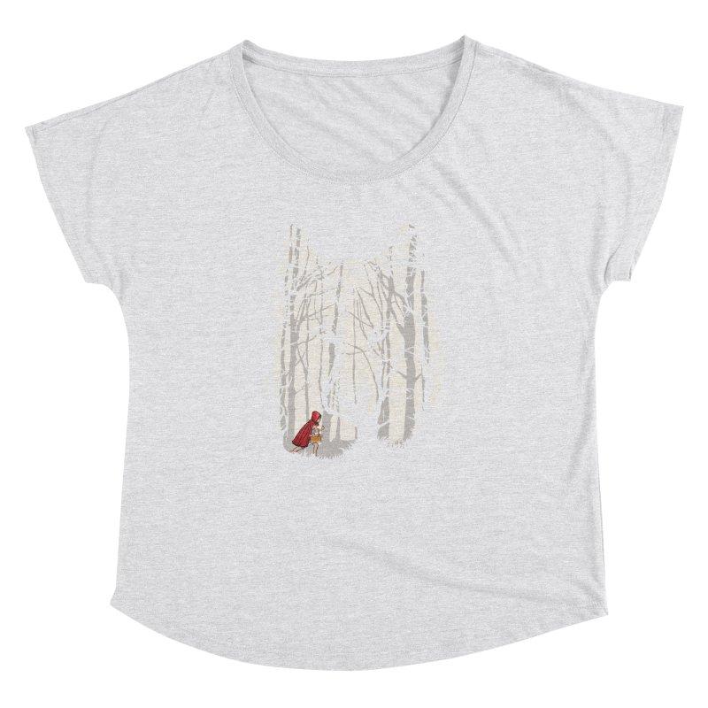 Little Red Women's Dolman by zomboy's Artist Shop