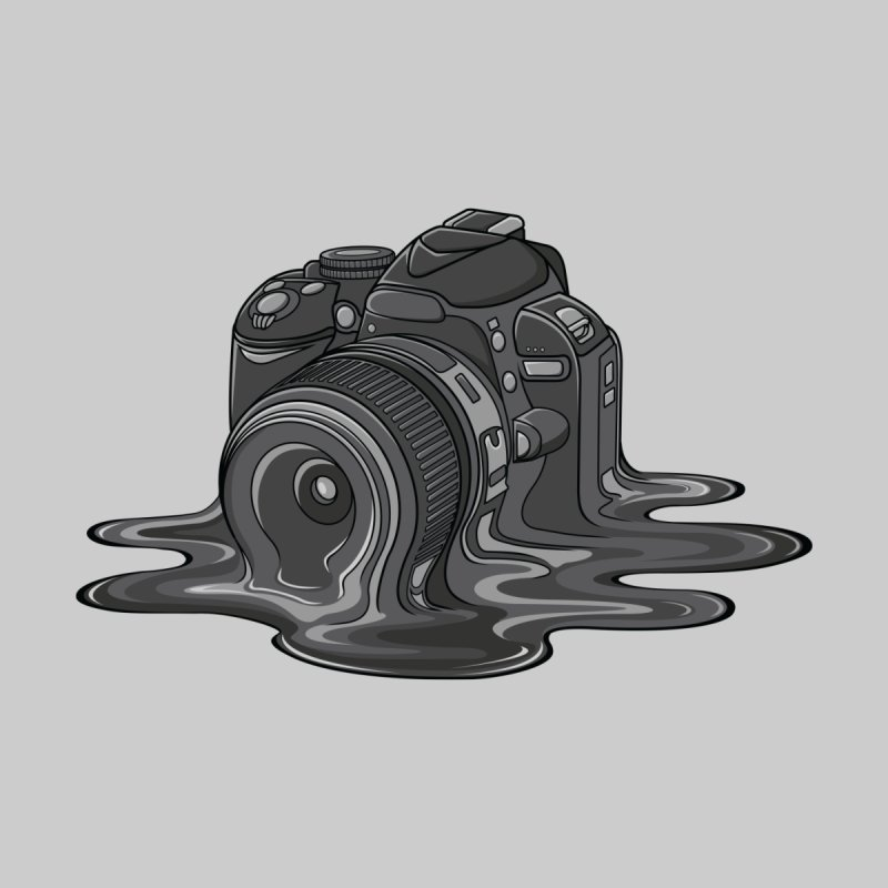 Camera Melt by zomboy's Artist Shop