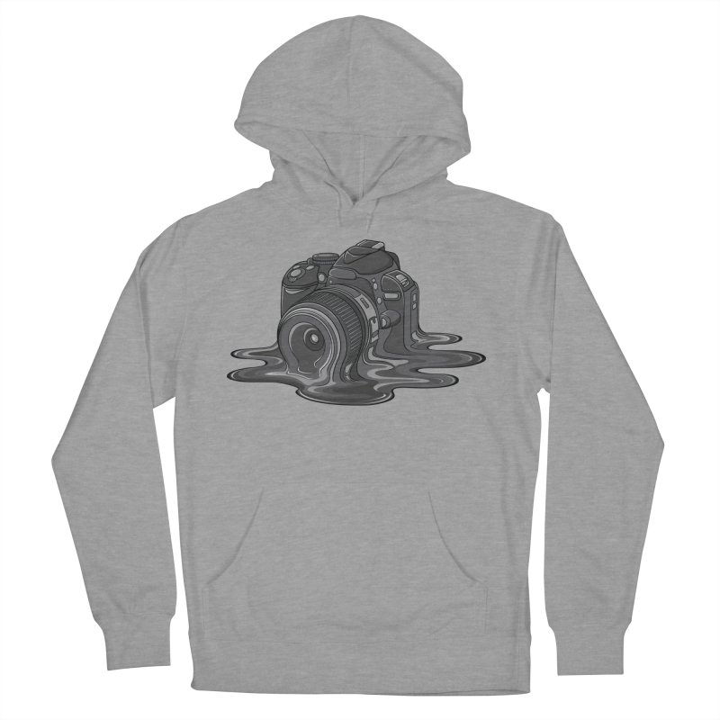 Camera Melt Women's French Terry Pullover Hoody by zomboy's Artist Shop