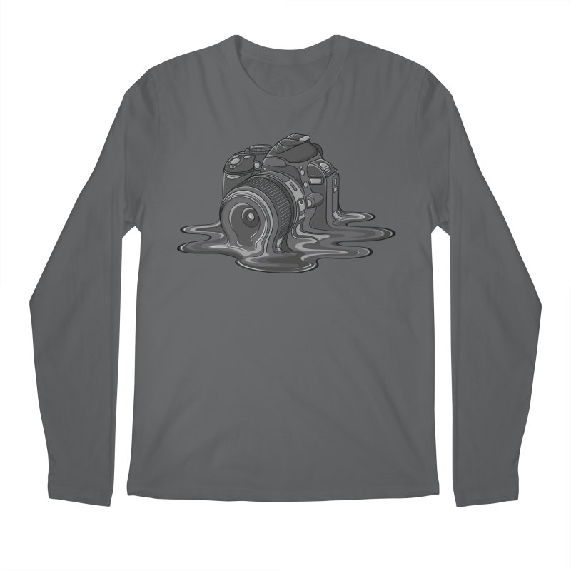Camera Melt Men's Longsleeve T-Shirt by zomboy's Artist Shop