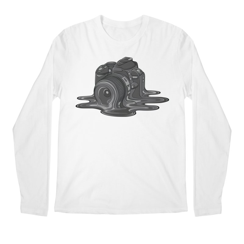 Camera Melt Men's Regular Longsleeve T-Shirt by zomboy's Artist Shop