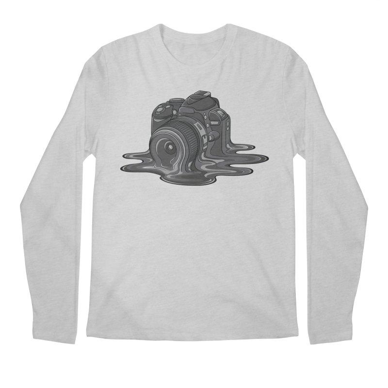 Camera Melt Men's Regular Longsleeve T-Shirt by zomboy's Artist Shop