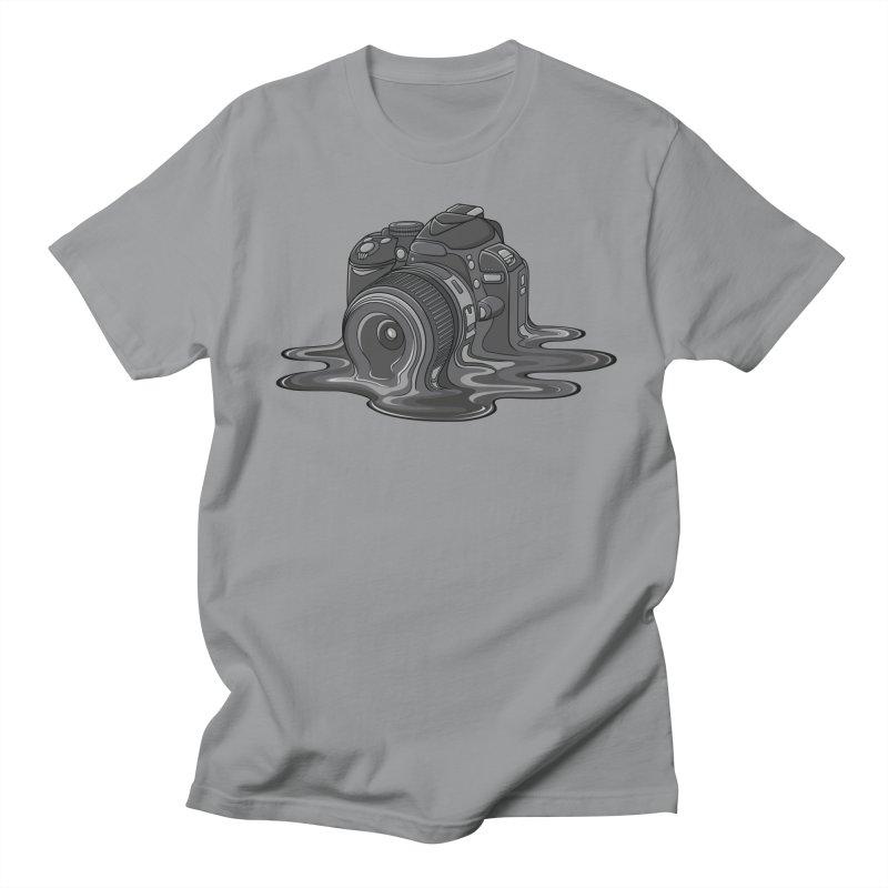 Camera Melt Men's T-Shirt by zomboy's Artist Shop