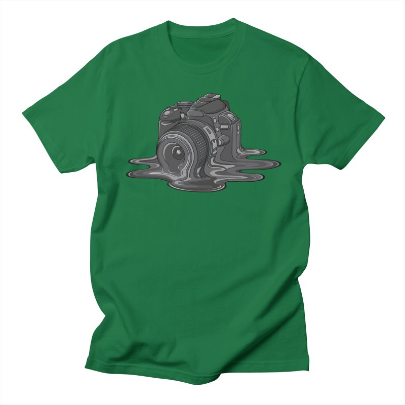 Camera Melt Men's T-shirt by zomboy's Artist Shop