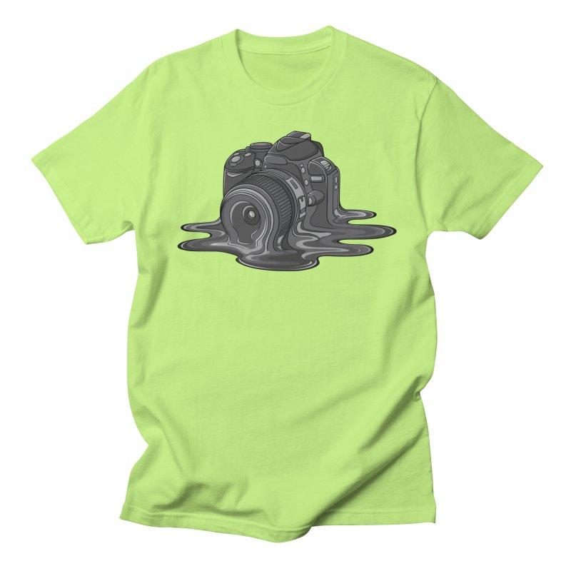Camera Melt Men's Regular T-Shirt by zomboy's Artist Shop