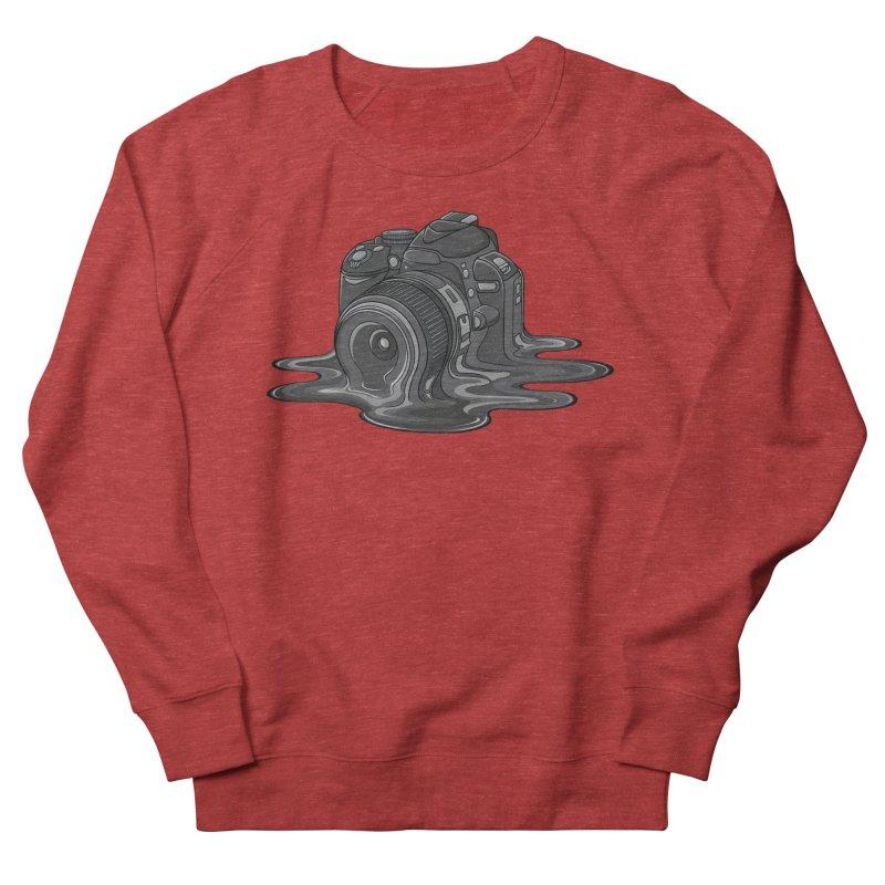 Camera Melt Women's French Terry Sweatshirt by zomboy's Artist Shop