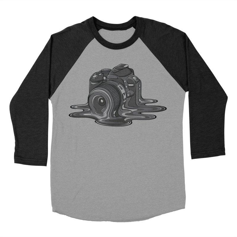 Camera Melt Women's Baseball Triblend T-Shirt by zomboy's Artist Shop