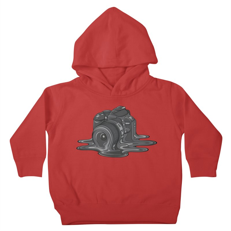 Camera Melt Kids Toddler Pullover Hoody by zomboy's Artist Shop