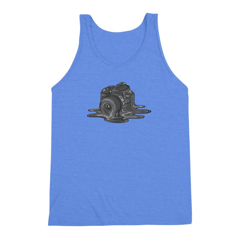 Camera Melt Men's Triblend Tank by zomboy's Artist Shop
