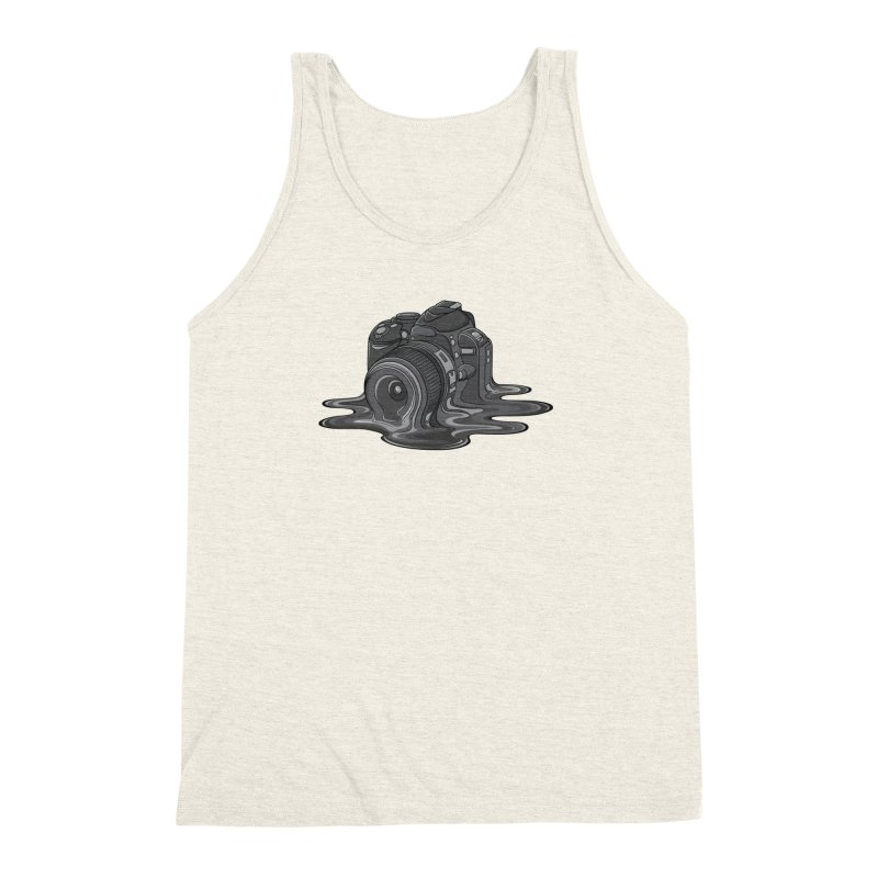 Camera Melt Men's Triblend Tank by zomboy's Artist Shop