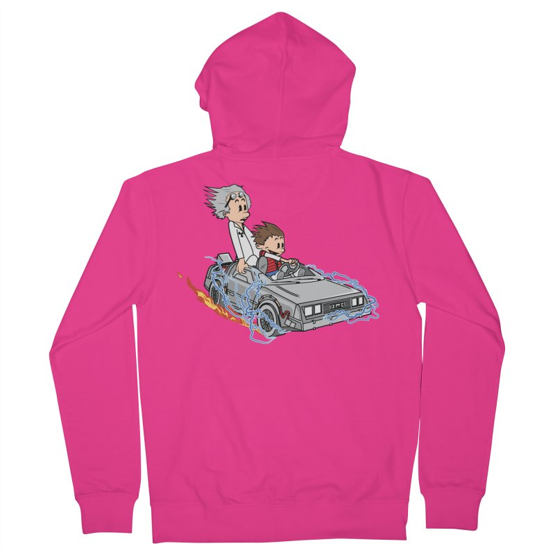 Great Scott! Men's French Terry Zip-Up Hoody by zomboy's Artist Shop
